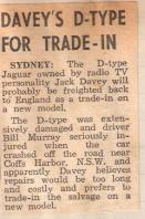 1957.25.11 Motor News article - 'Davey's D Type for trade in'.jpg